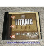 "RMS Titanic ""The Captain's Log"" Audio CD of Titanic disaster personal ac... - $6.99"