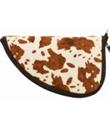 Classic Safari Hair on Hide Leather Pistol Rug - $33.99
