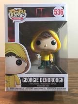 Funko Pop Movies IT! George Denbrough Vinyl Figure Collectible NEW - U... - $37.40