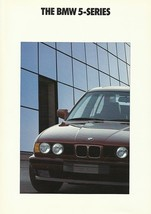 1991 BMW 5-SERIES sales brochure catalog US 91 525i 535i - $8.00