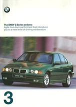 1998 BMW 3-SERIES Sedan brochure catalog US 98 318i 328i - $8.00