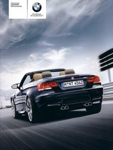 2008 BMW M3 Convertible sales brochure catalog US 08 - $12.00