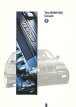 1995 BMW M3 coupe sales brochure catalog 1st Edition US 95 M - $12.00