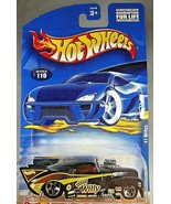 2001 Hot Wheels Collector #110 '41 WILLY'S Black w/Chrome 5 Spoke Wheels... - $6.50