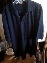 2XL CATALINA BAY Men's Casual Shirt Polo NAVY, XXL NEW - $3.47