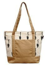 Vietsbay Woman Cat Pattern-8 Printed Canvas Casual Shoulder Bags WAS_13 - £14.22 GBP