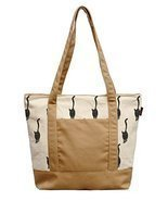 Vietsbay Woman Cat Pattern-8 Printed Canvas Casual Shoulder Bags WAS_13 - £14.00 GBP