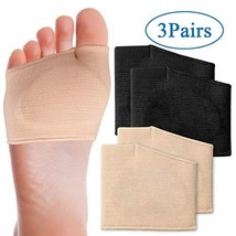 Metatarsal Pads Half Toe Bunion Sleeve with Sole Forefoot Gel Pads for Relief Me