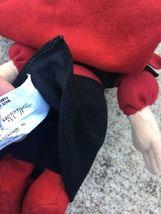 "Aladdin Jafar Plush Beanbag 8"" Disney Store Villain Figure Stuffed Doll Toy image 5"