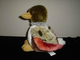 Realistic Duck Colorful 12 Inch Stuffed Velvet Plush - $67.50