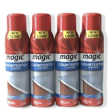 Magic Countertop Cleaner 17 oz Clean Shine Protect Discontinued Lot Of 4 - $89.99