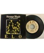 45 RPM Vinyl Single ELO Electric Light Orchestra Strange Magic / New Wor... - $19.78