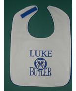 BUTLER UNIVERSITY BULLDOGS PERSONALIZED Large BABY BIB BIBS Choose White... - $15.99