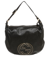Gucci Black Leather Small Blondie Hobo Handbag - $495.00