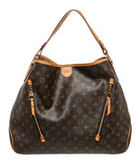 Louis Vuitton Brown Monogram Delightful GM Hobo... - $1,595.00