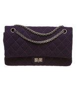 Chanel Purple Reissue 2.55 Quilted Classic Jers... - $2,495.00
