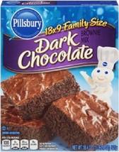 Pillsbury Dark Chocolate Brownie Mix Family Size - $10.84
