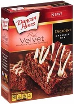 Duncan Hines Red Velvet Decadent Brownie Mix - $11.83