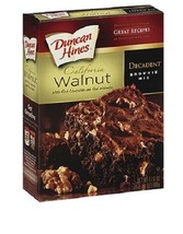 Duncan Hines California Walnut Decadent Brownie... - $11.83