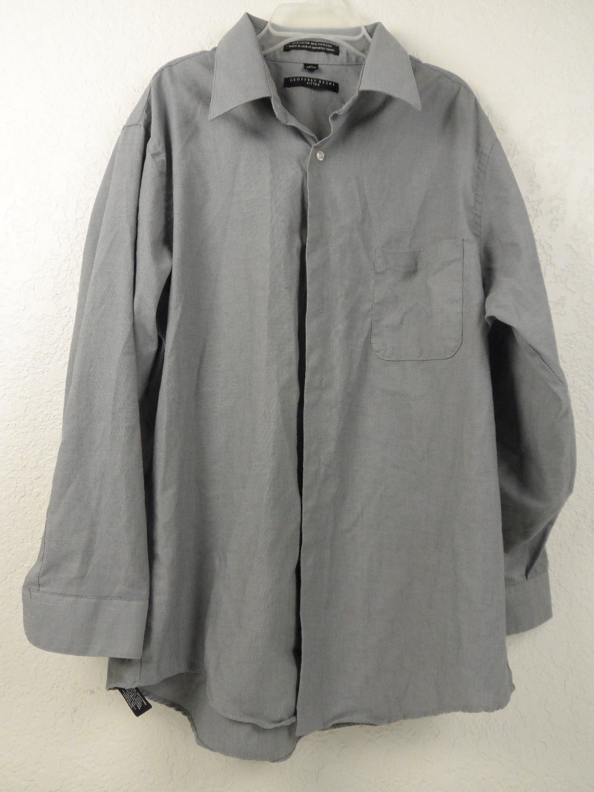 Geoffrey Beene Fitted Button Up Dress Shirt And 49 Similar Items