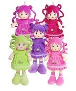 "Chinda 14"" Soft Cloth Doll with Playable Hair f... - $14.10"