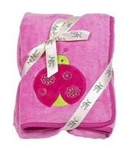 Maison Chic Hot Pink Leah the Ladybug Plush Bab... - $32.73 CAD