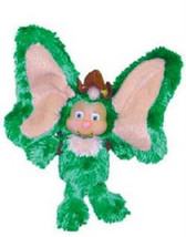 "6"" Wompkees Green Finger Puppet ~ Scout Wompkee... - $9.90"
