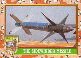 1991 Topps Desert Storm #49 The Sidewinder Missile - $0.99
