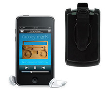 Ipod Holster Touch 2 2G Carry It Movin Belt Clip Case 2nd I-pod Skin Music - $42.89