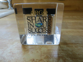 ARGO,SHARE IN OUR SUCCESS,CORN PRODUCTS,LUCITE FARMING FEED&SEED PAPERWE... - $25.22