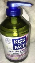 Kiss My Face Peaceful Patchouli Bath Body Wash 32 oz Pump New Aromathera... - $47.99