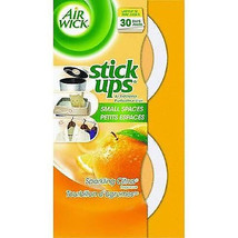 2 Airwick Air freshner Stick-Ups Disc Air Freshener aroma smell fresh sc... - $16.78