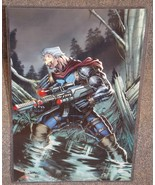 X-Men Cable Glossy Print 11 x 17 In Hard Plastic Sleeve - $24.99