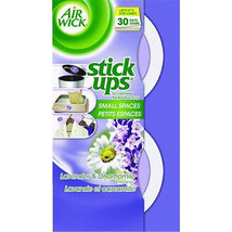 4 Airwick Air freshner Stick-Ups Disc Air Freshener aroma smell fresh sc... - $18.74
