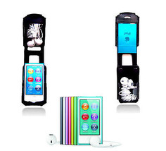 Ipod Nano Leather Holster Carry Swivel Belt Clip Case I-pod cover Music ... - $45.58