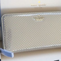 Kate Spade Lilac Street Dot Lacey Zip Clutch Continental Wallet NWT AND ... - ₨8,518.80 INR