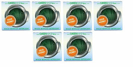 Organic GREEN 6 PACK LAUNDRY BALL Eco Natural WASH Cloths DETERGENT clea... - $160.29