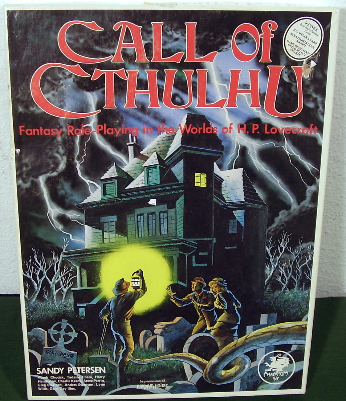 Call of Cthulhu 1981 RPG Game by Chaosium