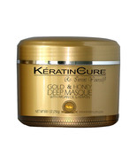 KERATIN CURE DEEP REPAIRATION CONDITIONING MASQUE CREAM GOLD & HONEY 250... - $34.99