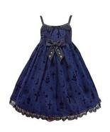 Angelic Pretty Holy Lantern High Waist Jumperskirt Dress in Navy Lolita ... - $589.00