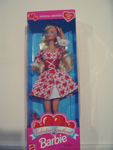 NIB Barbie Valentine Sweetheart Special Edition collectable 1995 NEW nev... - $12.46