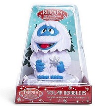 Rudolph the Red Nose Reindeer Bumble Solar Bobbler Bobblehead w - $11.99