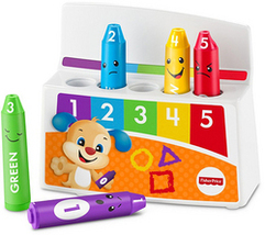 Fisher-Price Laugh & Learn Colorful Mood Crayons  by Fisher Price - $17.97