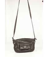 Giani Bernini Womens Small Soft Grey Leather Purse Shoulder Strap - $28.02