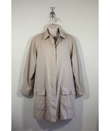 London Fog Womens Tan Limited Edition Jacket Sz 8 w/ Removable Liner - $45.60
