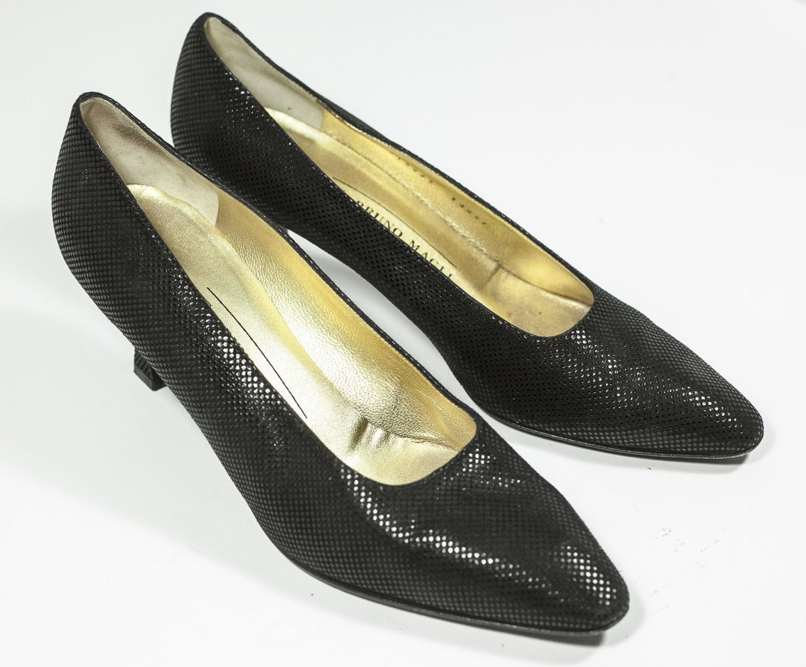 ff894378038 Bruno Magli Womens Pumps Black Shoes Size 10 AA -  42.75