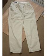 Mens Polo Ralph Lauren Khaki Chino pants 100% cotton cream off-white Siz... - $33.24