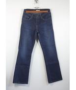 Levis 529 Jeans ladies womens Size 8M medium Curvy Boot Cut denim dark blue - $36.09