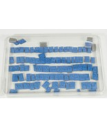The Alphabet Unmounted Cling Rubber Stamps Set of 91 - $19.00