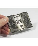 Vintage Brass Belt Buckle Greenlee Machinery & Tools Est. 1862 - $38.95